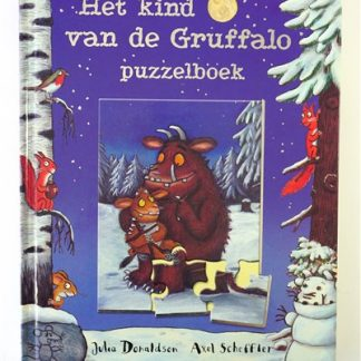 Het kind van de Gruffalo-puzzelboek
