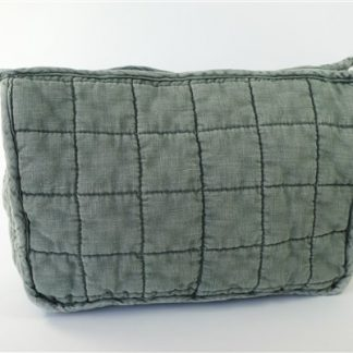Quiltes toiletbag Old Green