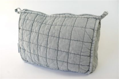 Quilted toiletbag Charlotte Summer Green