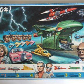 Vintage puzzel Thunderbird
