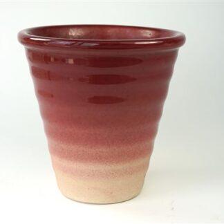 Vaas / pot met verloop van kleur