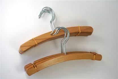 Houten kleerhangers