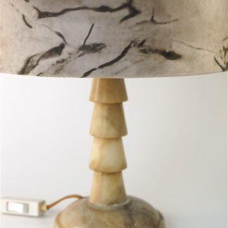Marmeren(?) lampvoet