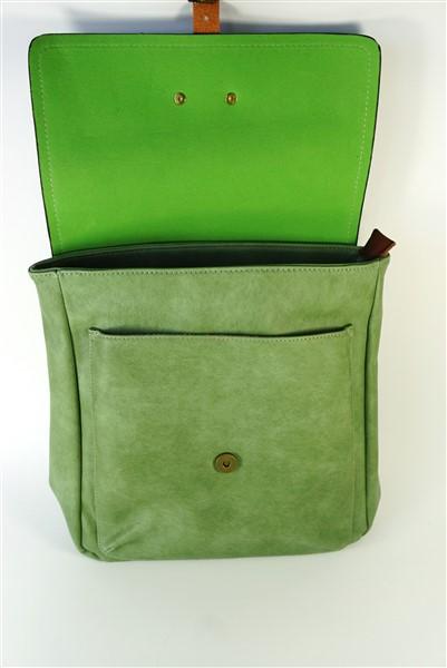Groene rugzak