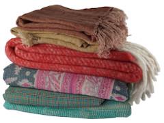 Plaids - kantha kleden - dekens
