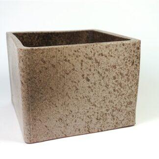Vierkante pot