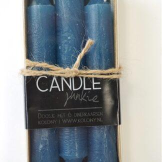 Kaarsen blauw