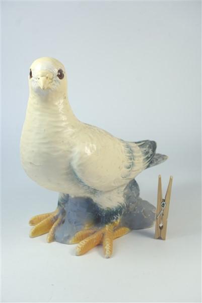 Plastic duif - deco
