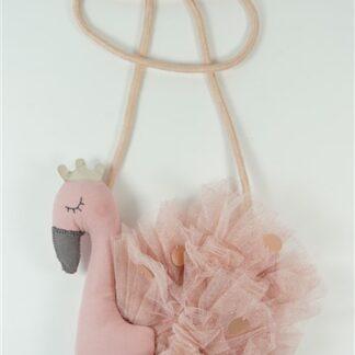 Flamingo mini-tasje roze