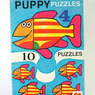 Vintage mini puzzels - B-keus