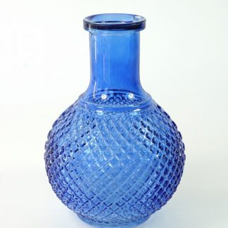 Blauw bol-vaasje / flesje