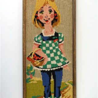 Vintage borduurwerkje