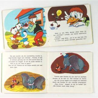 2 vintage mini boekjes Walt Disney