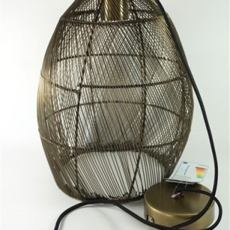 Hanglamp Meya - antiek brons