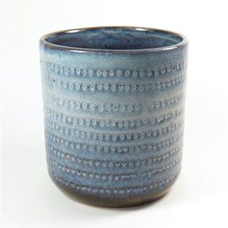 Pot in blauwtinten