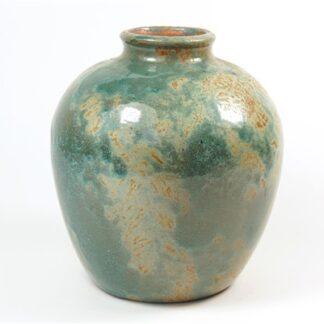 Aqua / groene vaas