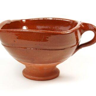 Fries aardewerken bakje