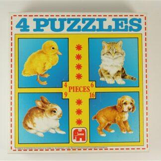 4 puzzeltjes