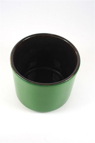 Groen vintage pot