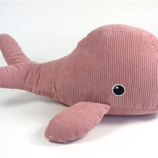 Deurstopper roze walvis