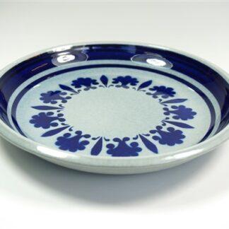 Blauw / wit bord Boch