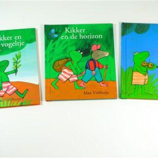 """Drie """"Kikker"""" boekjes"""