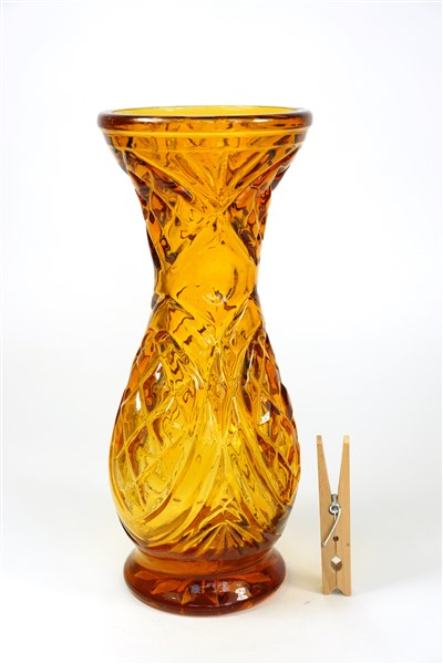 Glazen vintage vaas